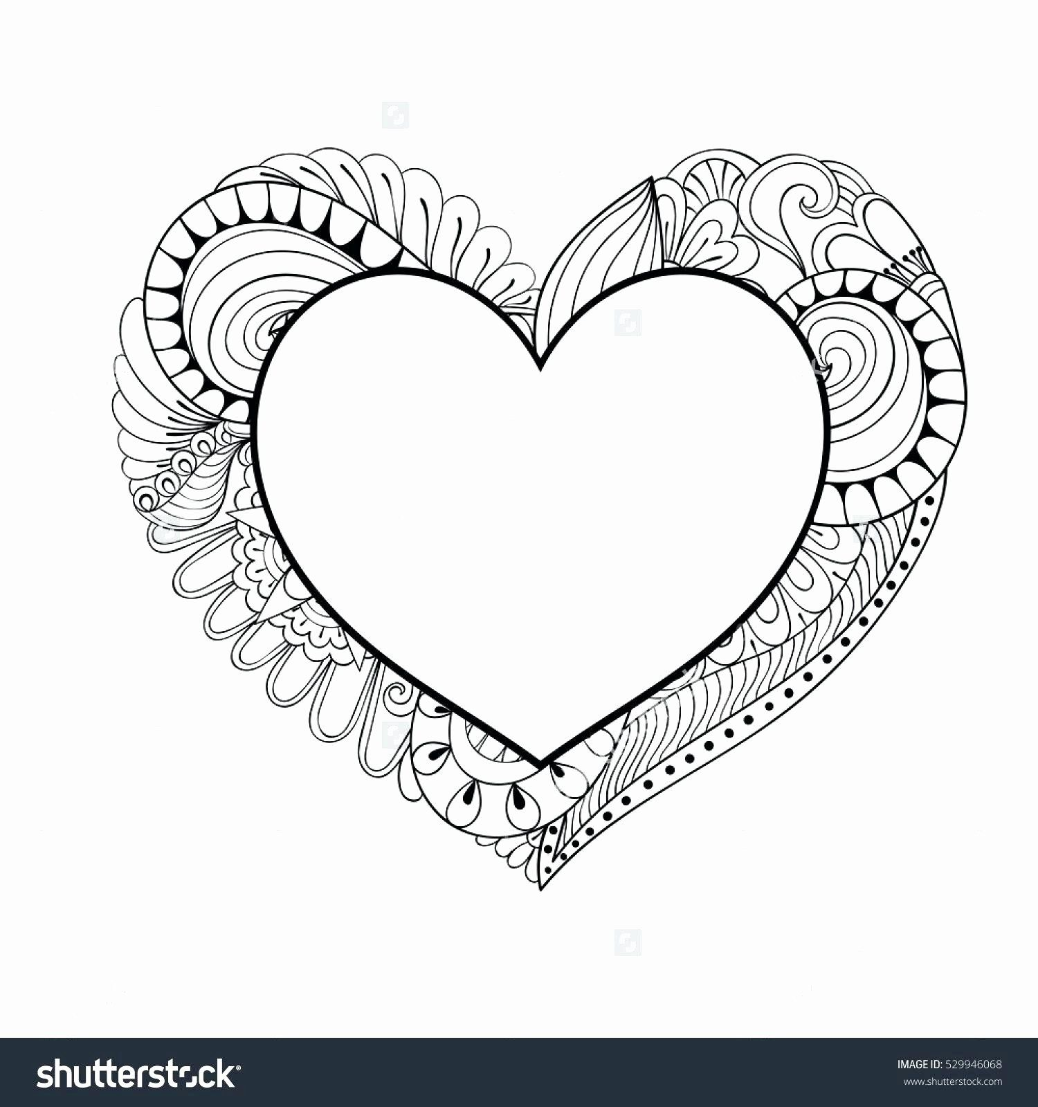 Conversation Heart Coloring Page Di 2020
