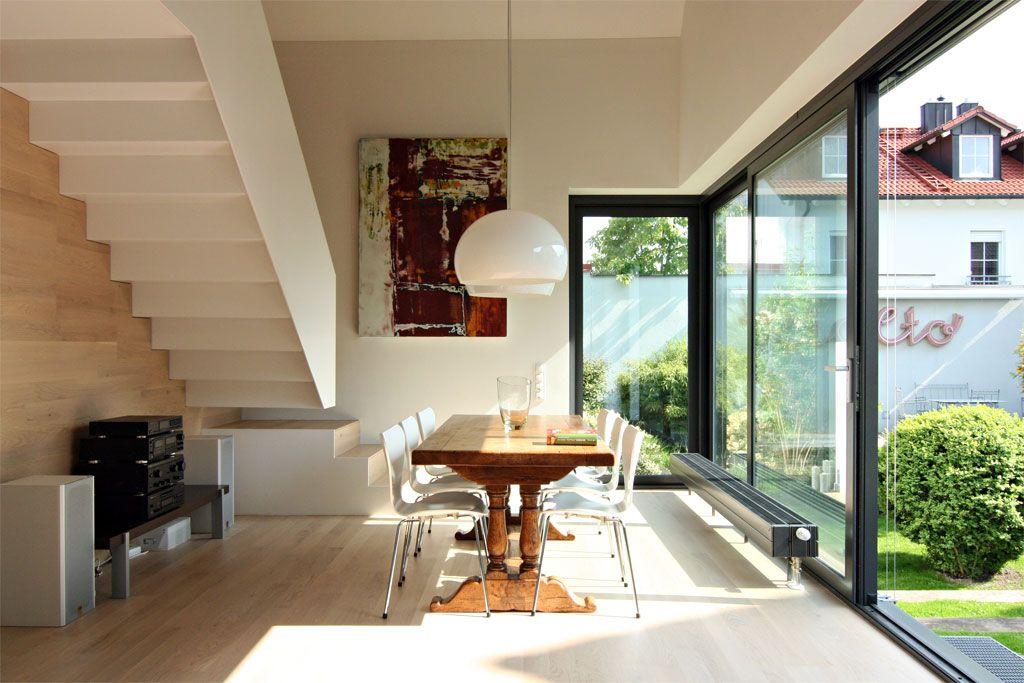 Moderne häuser innen schlafzimmer  Umbau-Glück: Ein Altbau gewinnt Kontur - Altbau - Hausideen, so ...