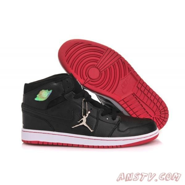 Air Jordan 1 Retro 97 - Blanc / Noir-Rouge Gym Air Jordan Homme