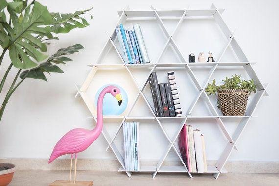 Fresh White Decorative Bookcase