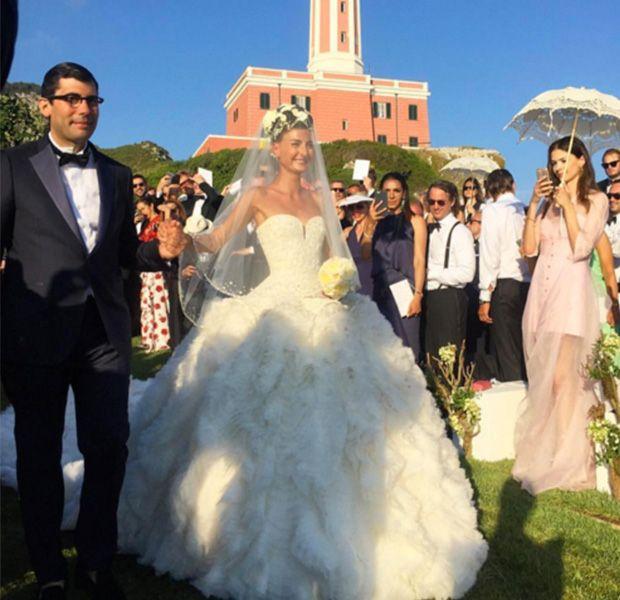 La boda de Giovanna Battaglia http://stylelovely.com/celebrity/boda-giovanna-battaglia/