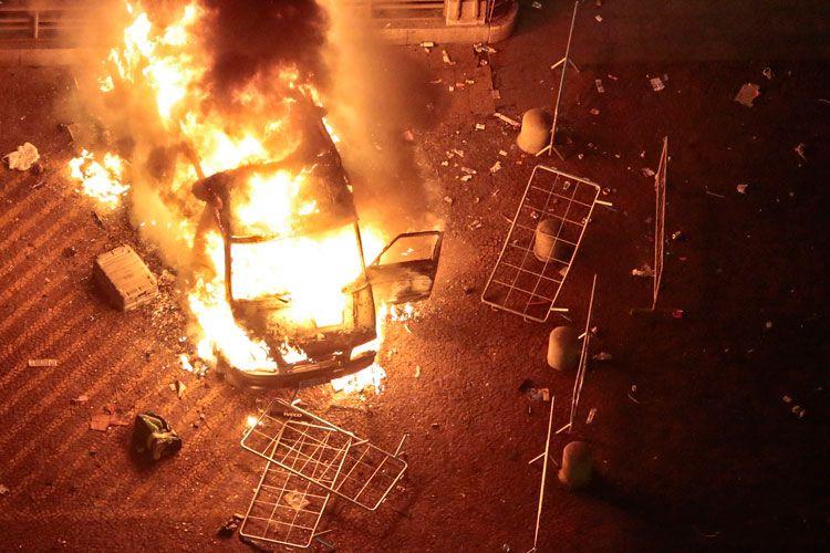 Atos fascistas contra a imprensa exigem uma resposta da sociedade | #Imprensa, #Manifestações, #Radicalismo, #Vandalismo, #Violência