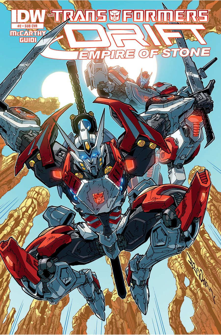 transformers drift empire of stone 2 of 4 search home comic