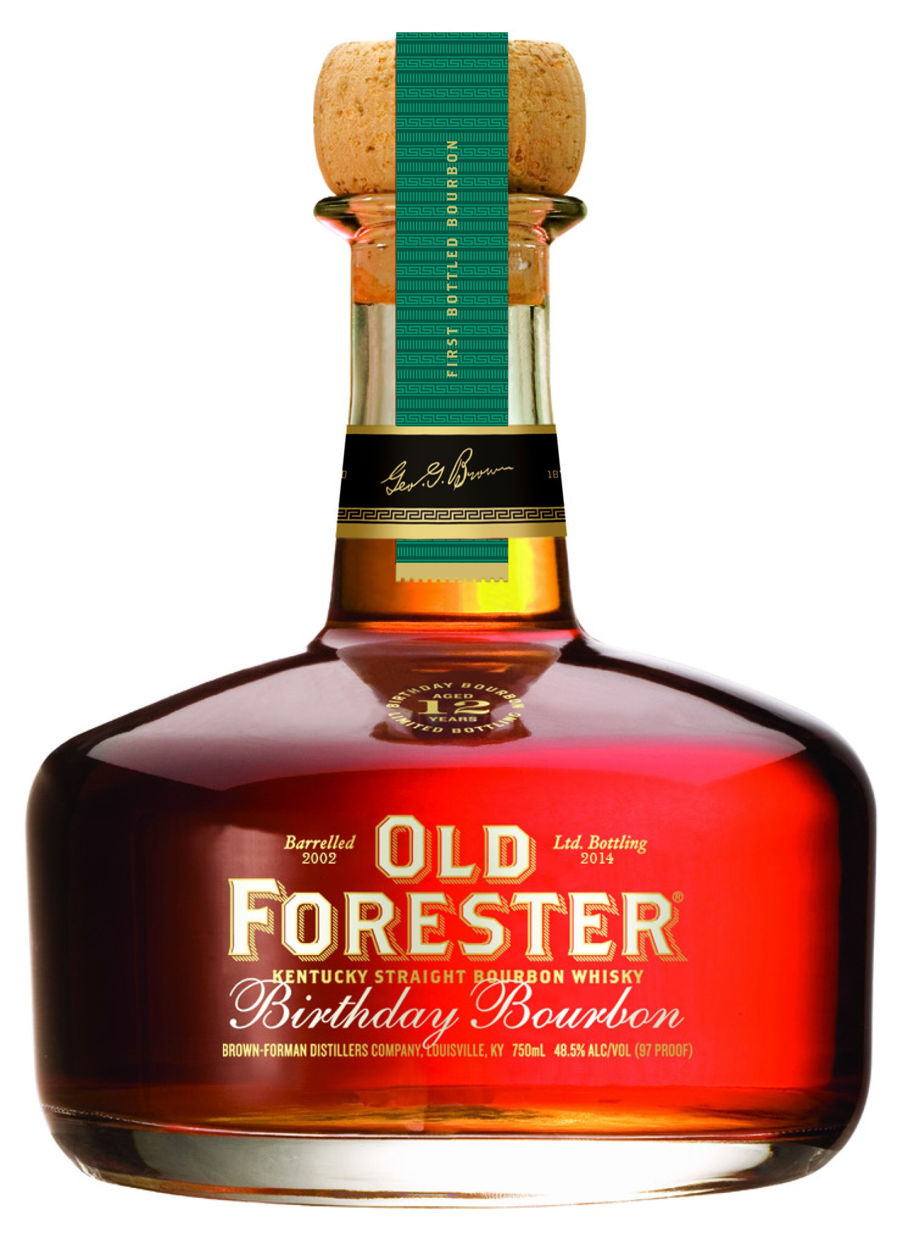 Review Old Forester Birthday Bourbon 2014 Edition Bourbon Bourbon Drinks Whisky