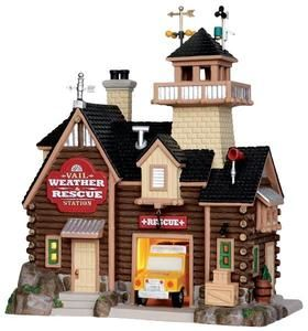 Vail Weather & Rescue Station - Lemax Christmas Vail Village U$35 - 2013