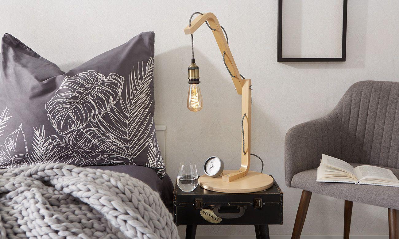 Tischlampe aus Holz selber machen Tischlampen aus holz