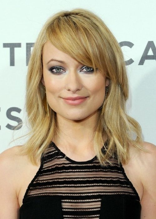 Top 50 Hairstyles For Square Faces Herinterest Com Shoulder Length Hair With Bangs Square Face Hairstyles Wavy Haircuts