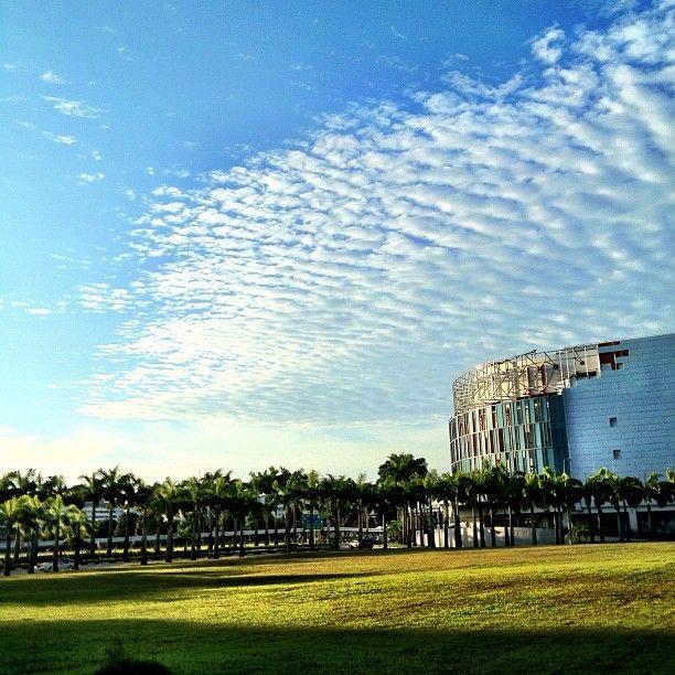 #clouds #sky #singapore #sg #blue #iphone4s #sg2012 #nofilter #guoshengz #guosheng
