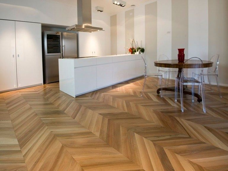 Prefinished wooden parquet NOBLESSE® SPINA UNGHERESE by