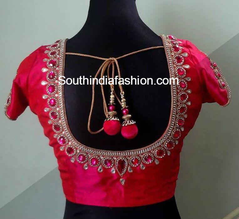 Maggam Work Blouse Designs Blouse Designs Saree And Saree Blouse