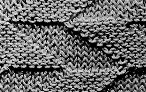 Reversible Diamond Stitch knitting pattern originally published in ...