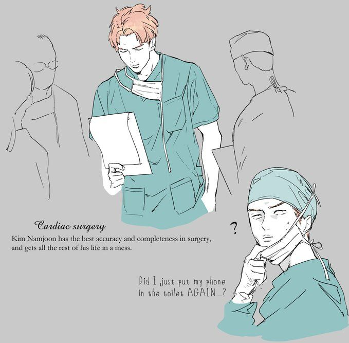 bts rm by unknown