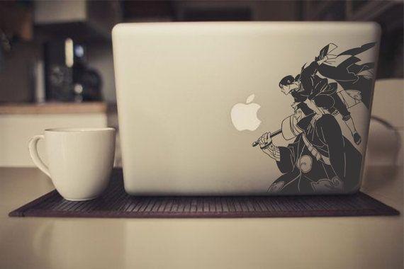 Naruto Itachi and Kisame Attack! Laptop/Car Vinyl Sticker
