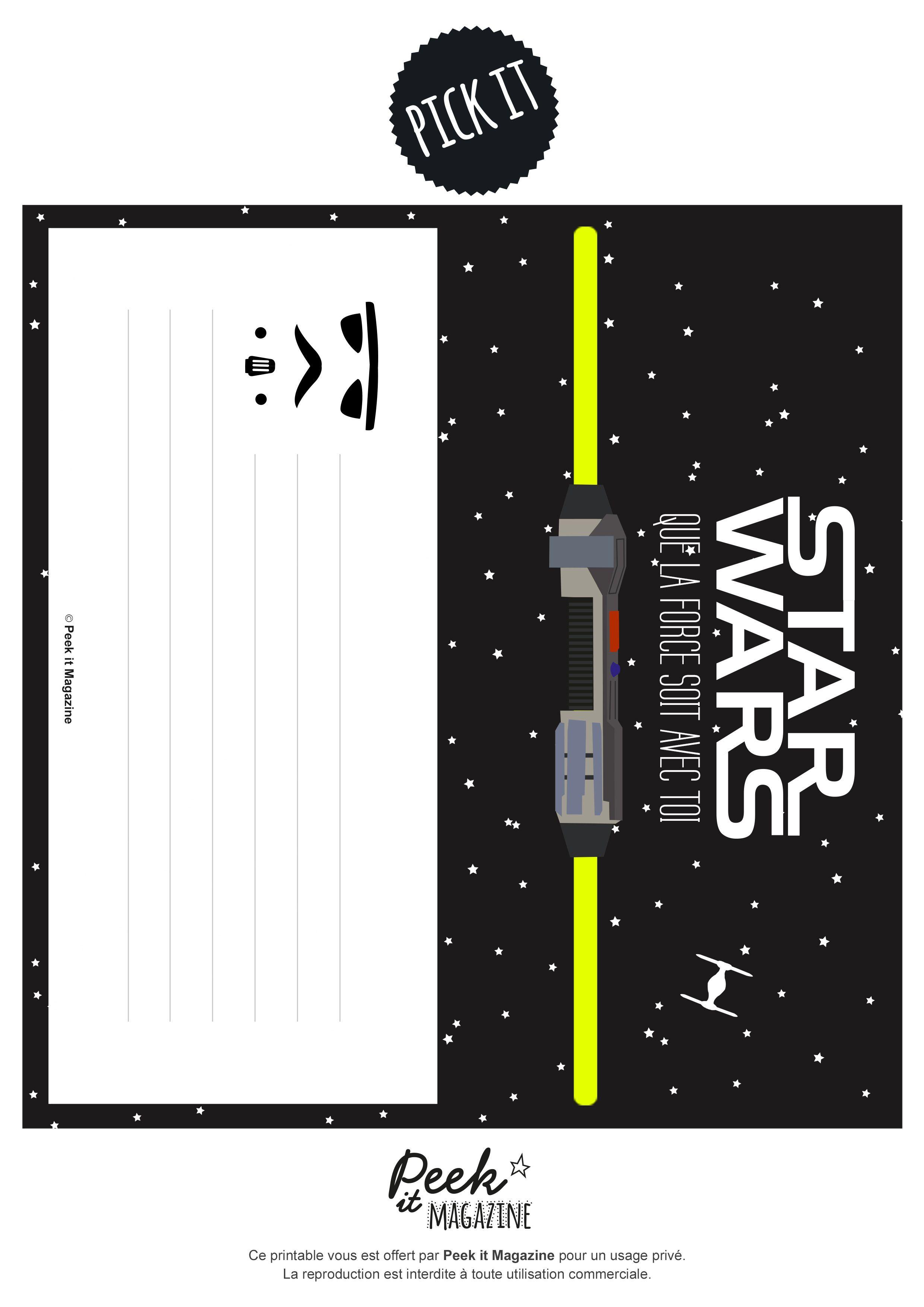 anniversaire star wars diy