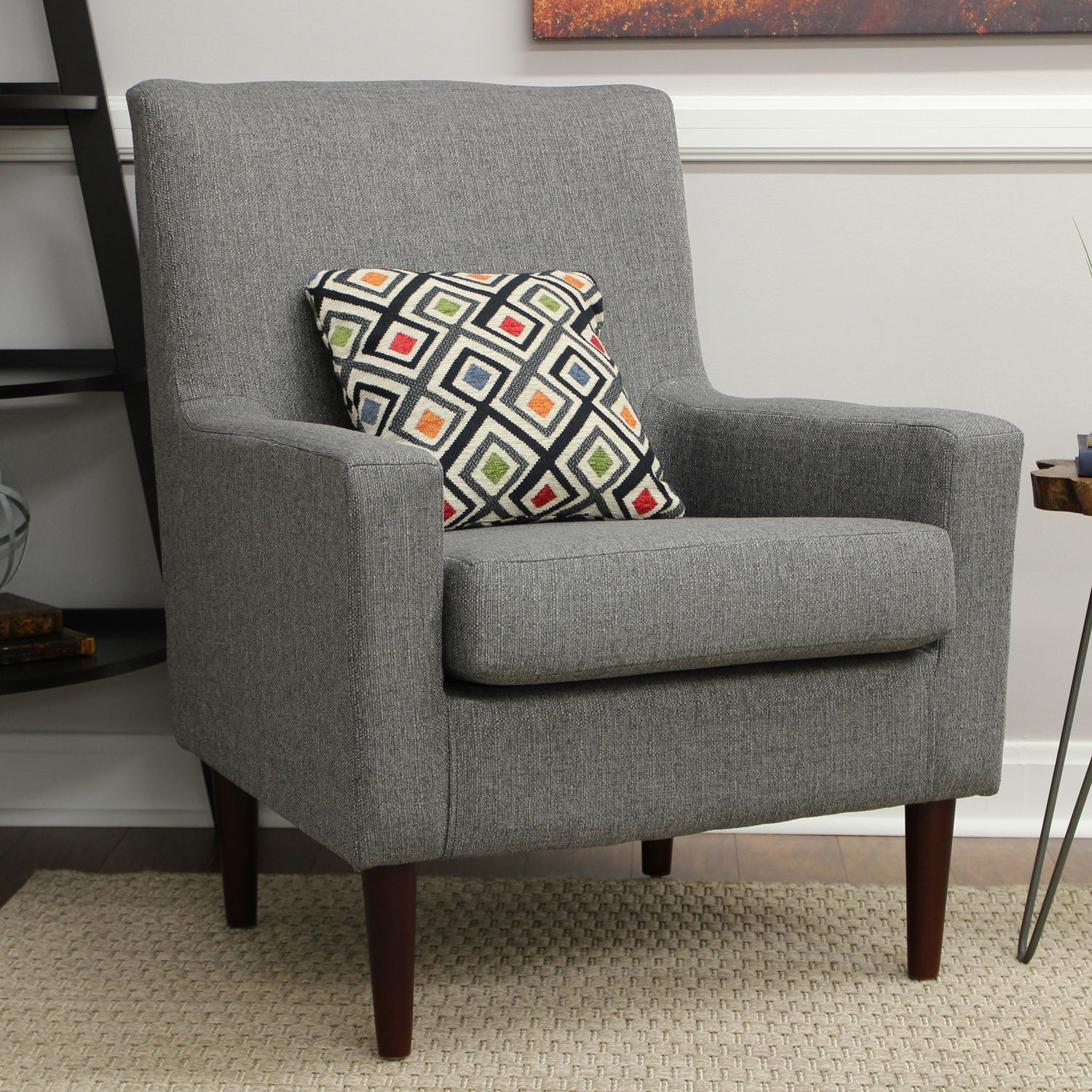 Emma Granite Arm Chair Living Room Chairs Accent Chairs For