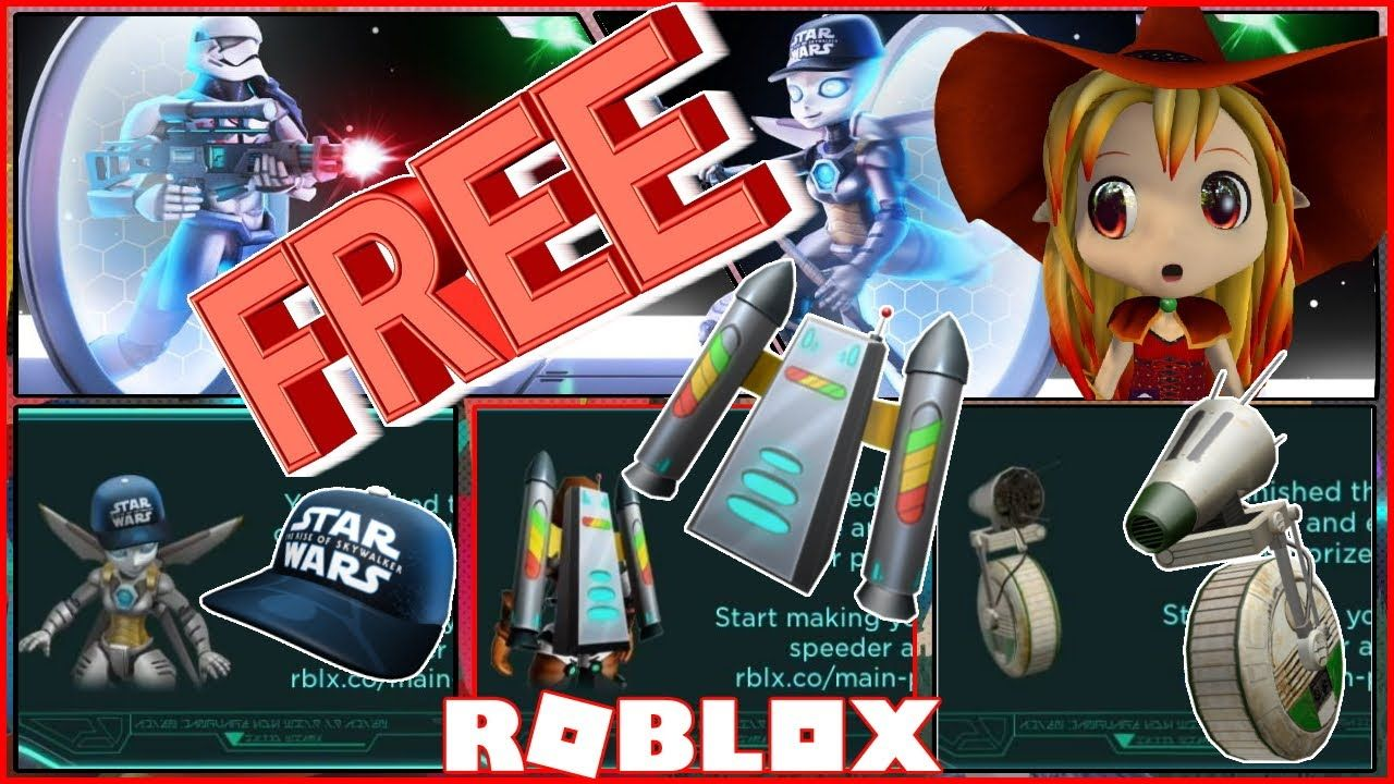 How to get free Roblox Items! Roblox Galactic Speedway