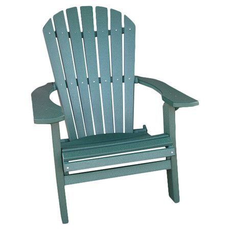 eco friendly folding adirondack chair with a contoured seat product
