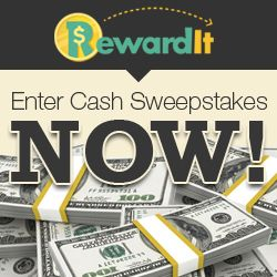 Mark just entered the $1,000,000 Sweepstakes on Rewardit com