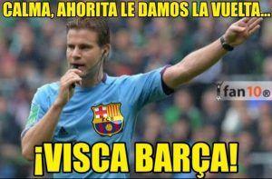Los Memes Graciosos Del Barcelona Vs Atlético De Madrid Atletico De Madrid Memes De Risa Gracioso