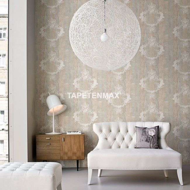 Elements u2013 BN Wallcoverings Vliestapete u2013 Tapeten Nr 46522bn in - wohnzimmer farben braun