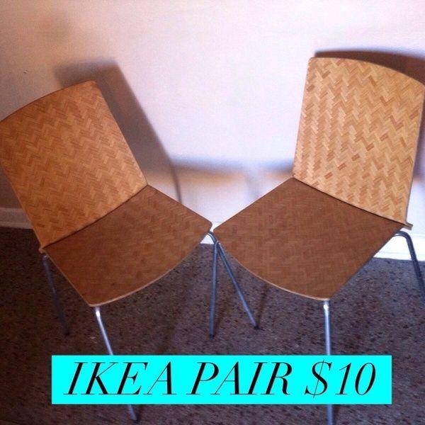 IKEA Chairs. Ikea ChairsOrlandoMid Century
