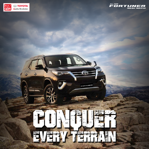 Toyota Fortuner Conquer Every Terrain Toyota Dealers Toyota Toyota Car Models