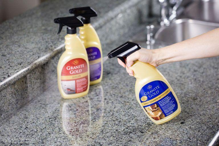 How to Clean and Seal Your Granite Countertop Granite