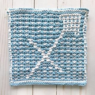 Sagittarius Dishcloth pattern by Cassandra Bibler #slipstitch
