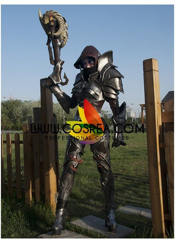diablo 3 demon hunter cosplay costume