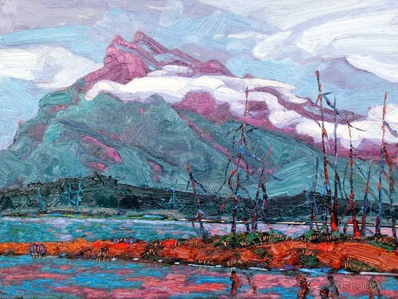 Mount Rundle Domink J. Modlinski