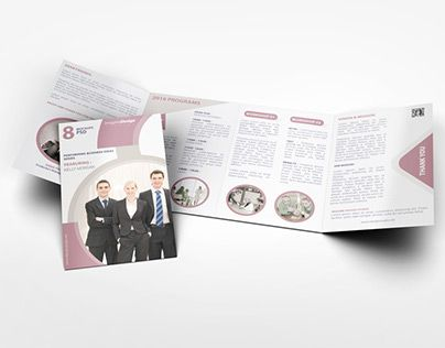 Check Out New Work On My Behance Portfolio Roll Fold Brochure