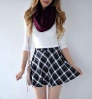 54+ trendy skirt outfits for teens schools girly