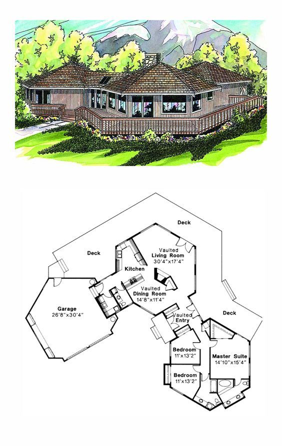 e Story Style House Plan with 3 Bed 2 5 Bath 2 Car Garage