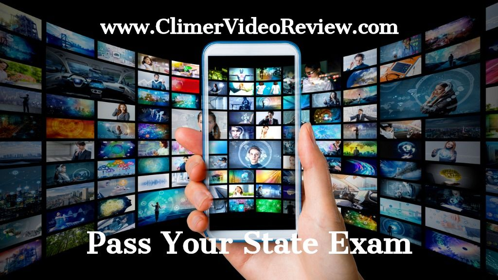 Florida real estate state exam video review course with