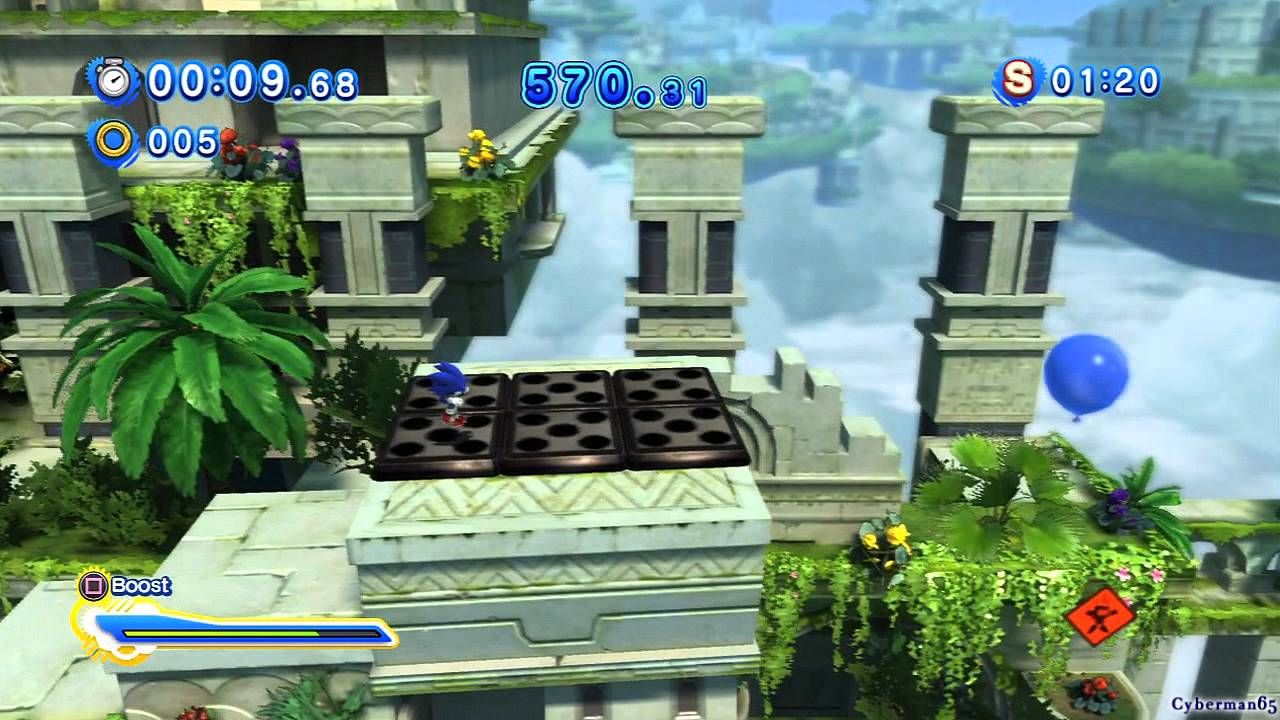 Sonic Generations PS3 - [Part 6 ~ All Sky Sanctuary Zone