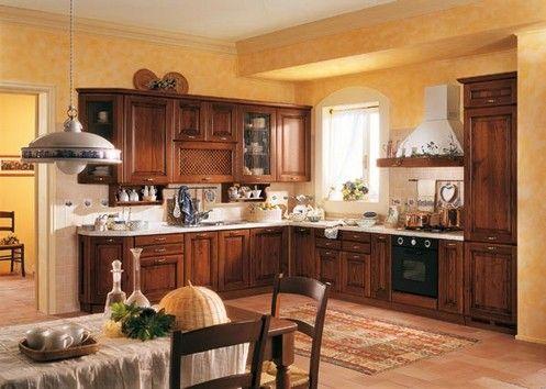 Cocina comedor con muebles de algarrobo cocinas - Cocinas con comedor ...