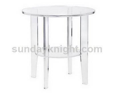 Perspex coffee table