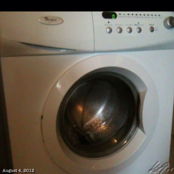 洗濯機も入れちゃったぜ〜 我が家じゃ無いけどね。 installed washing machine. #philippines #フィリピン