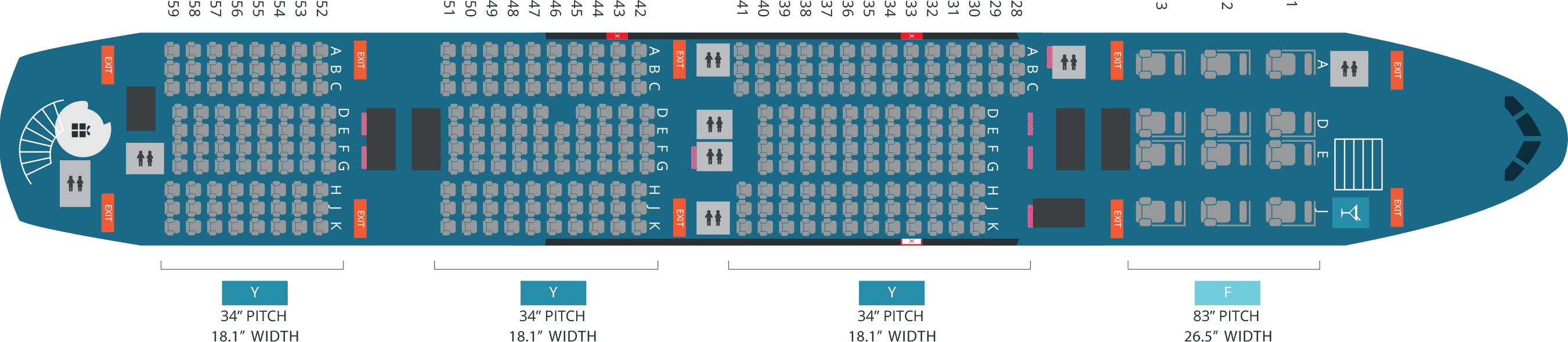 Delta Airbus A380 800 Seating Chart - Frameimage.org