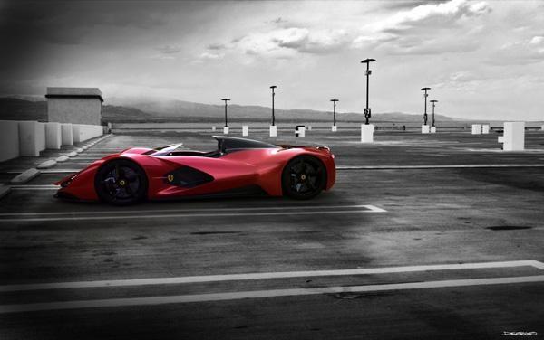 Ferarri Aliante Concept Cuded Concept Cars Ferrari Ferrari World