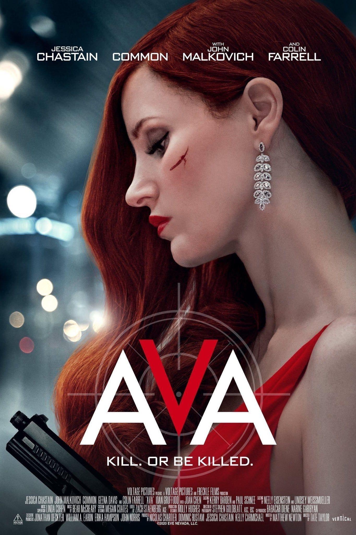 Ava 2020 Películas Completas Estrellas De Cine Peliculas De Accion