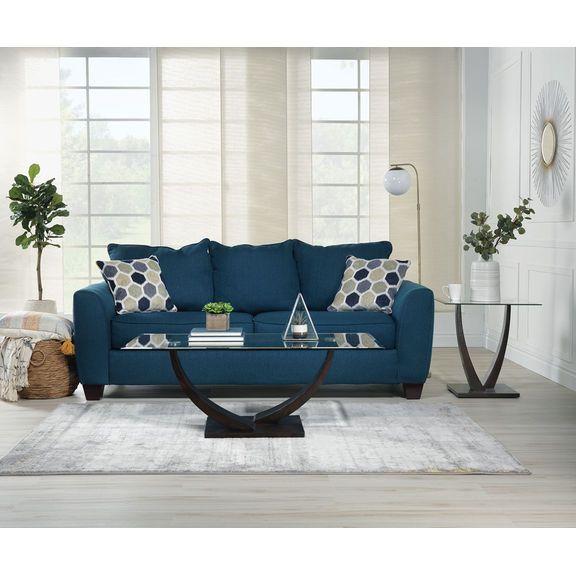 Marvelous Heritage Sofa Navy Decor Sofa Furniture Back Pillow Cjindustries Chair Design For Home Cjindustriesco