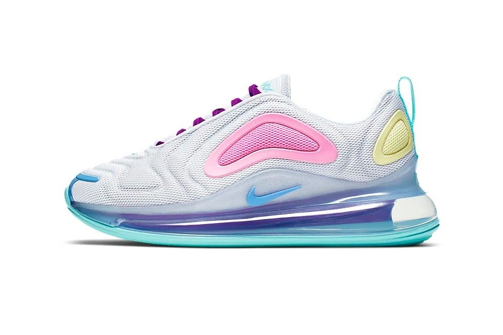 Nike's Air Max 720 Sneaker Arrives in Three New Pastel Hues