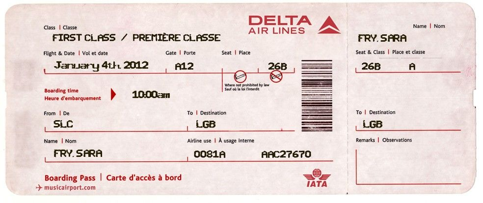 Fake Airline Ticket For Surprising Kids I M Using This Website To