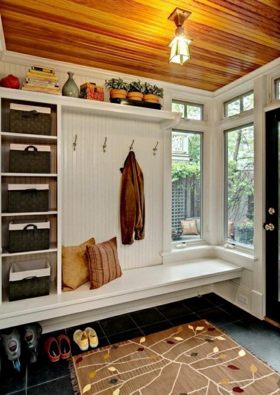 Aménagement entrée maison fonctionnel et esthétique | Petit dressing ...