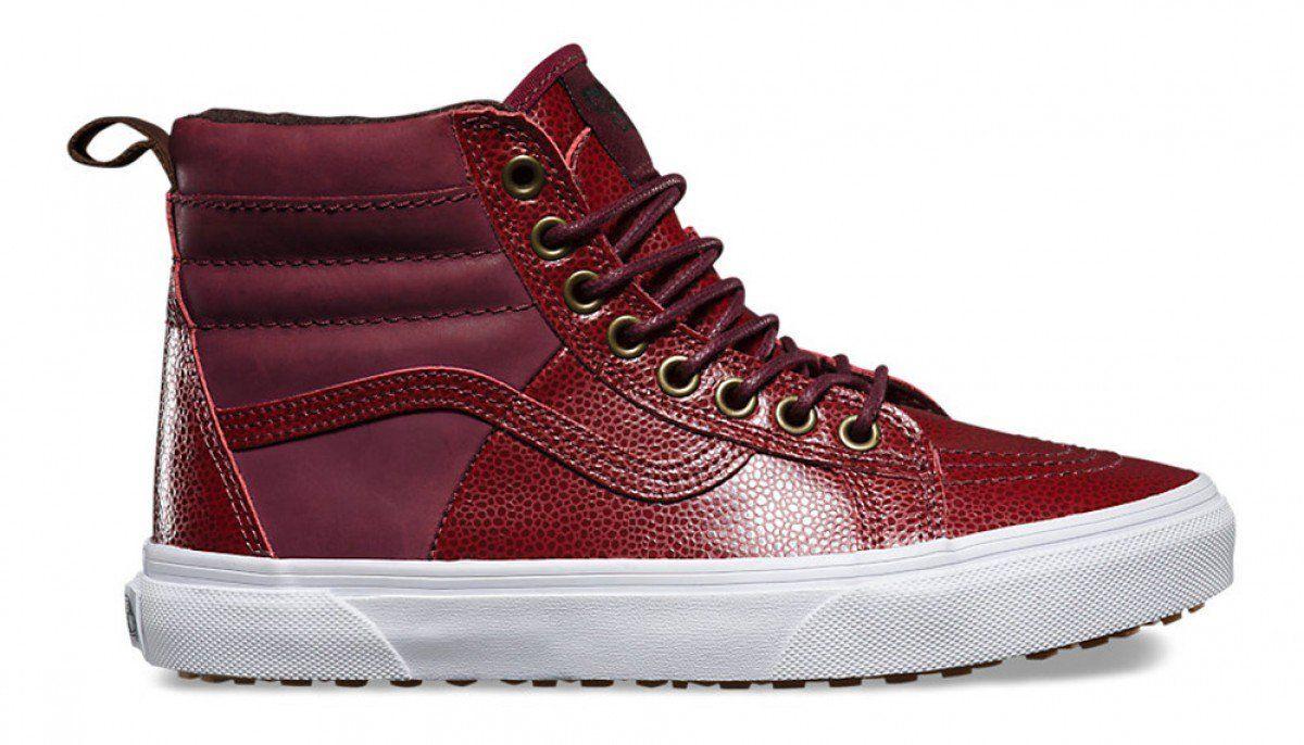 45d9153fc7 Vans Sk8-Hi 46 MTE (Pebble Leather) Port Royale