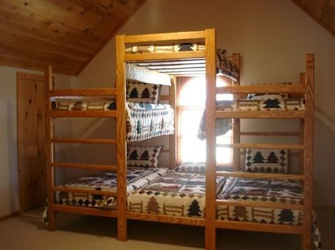 Stack Bunk Beds Luv This For A Cabin Or Kids Cubby