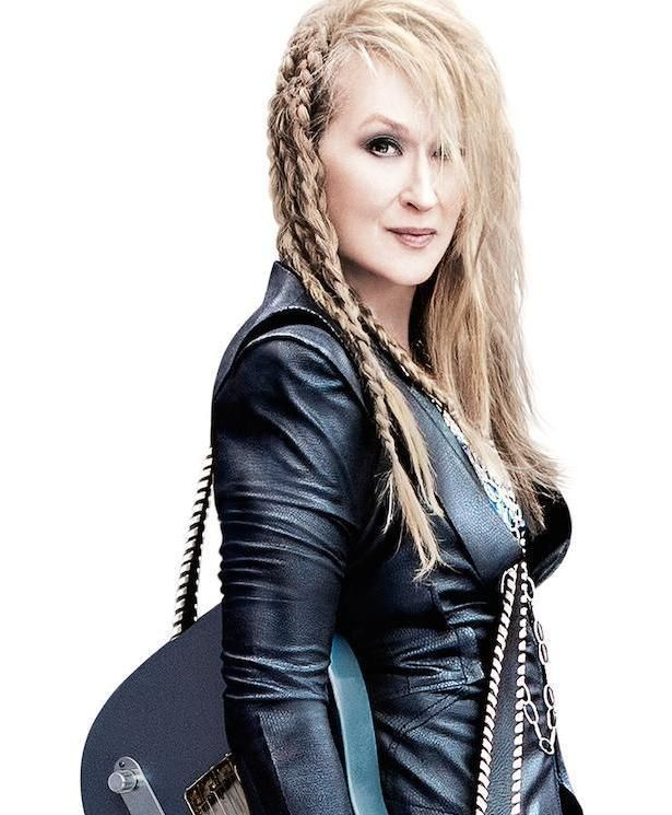 Meryl Streep, seen in an exclusive poster for 'Ricki and the Flash,' evokes a real-life rocker mama.