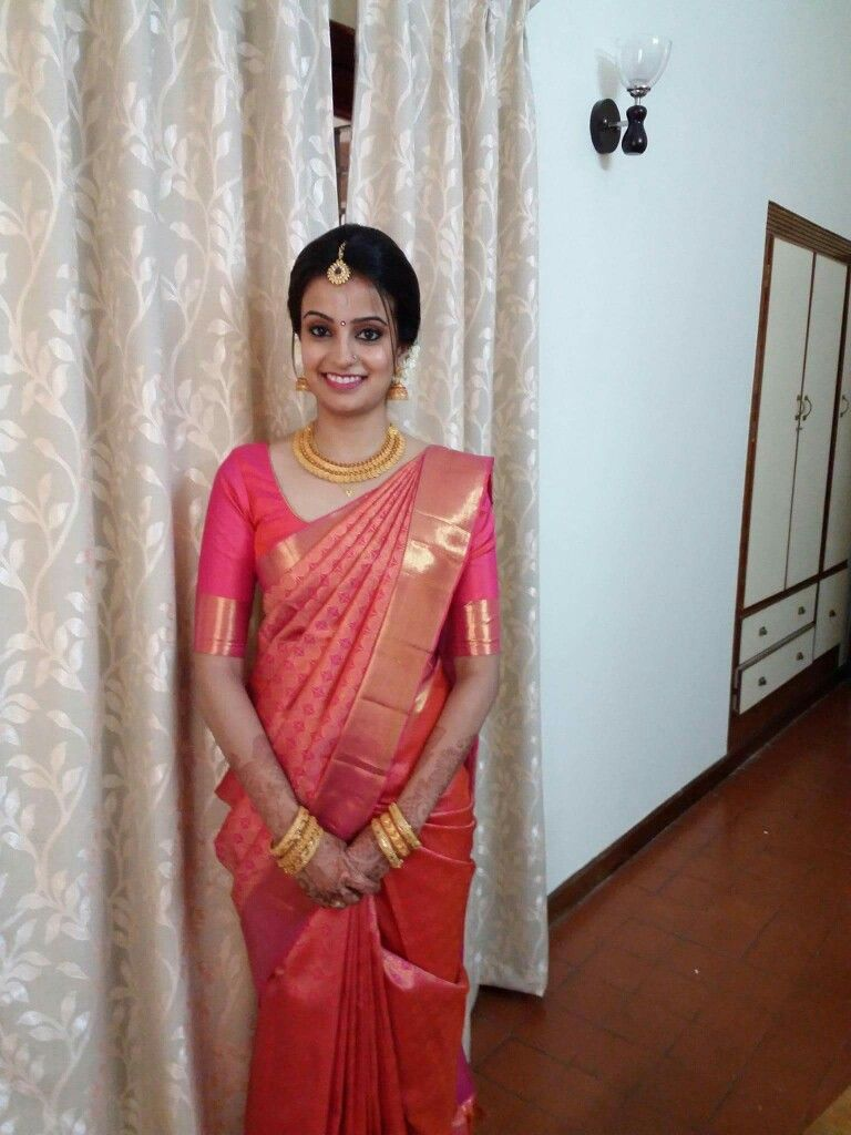 Like the blouse design for a Kerala dares | Saree ...