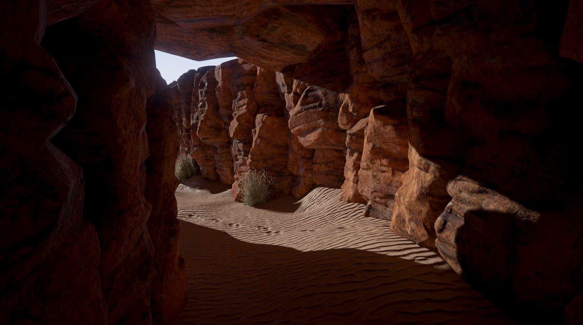 ArtStation - Unreal 4 Desert , Giovanni Shull